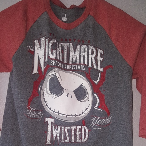 disney nightmare before christmas t shirt